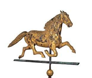 """L19thC 45"""" Long Full Body """"Ethan Allen"""" Horse"""