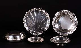 Lot of Sterling Silver Serving Dishes