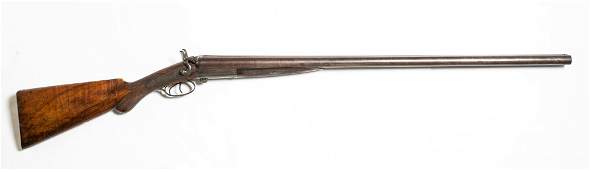 Mid-19thC W. Richards 10 Gauge Percussion Side Lever