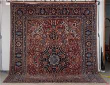 20thC Persian Sarouk Style Room Size Oriental Rug