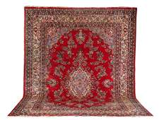 Mid 20thC Tabriz Style Oriental Room Size Rug