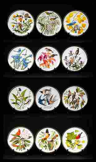 The National Audubon Society Porcelain Plate Collection