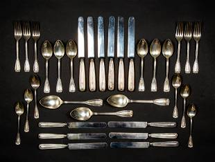 Tiffany & Co. Sterling Silver Six Piece Place Setting