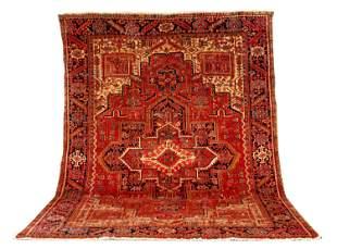 Mid 20thC Heriz Room Size Oriental Rug