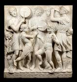 18thC/19thC Italian Carved Marble Frieze After