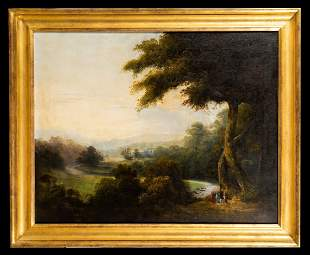19thC American/ Continental Landscape Painting