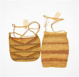 Two Crotchet Native American Bags