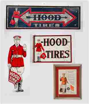 "Miscellaneous Lot ""Hood Tires"" Advertisement"
