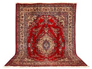 20thC Kazvin Room Size Oriental Rug