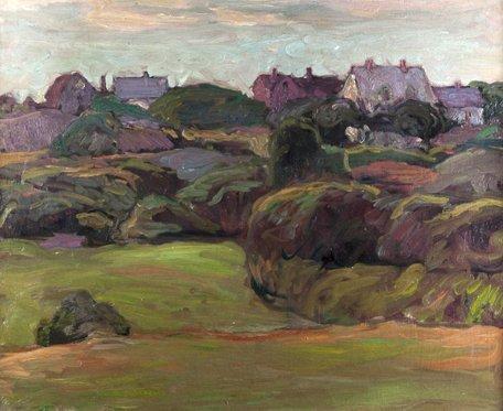 Charles Allen Winter painting.