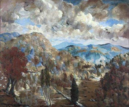 Mountford Coolidge painting.