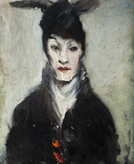 Lucie Bayard portrait painting.