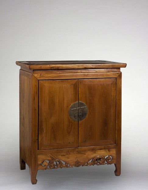 19th Century Chinese Two Door Cabinet.