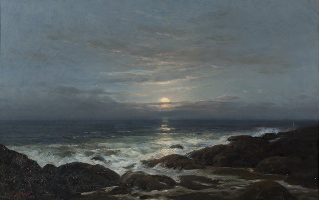 Horace P. Giles seascape.