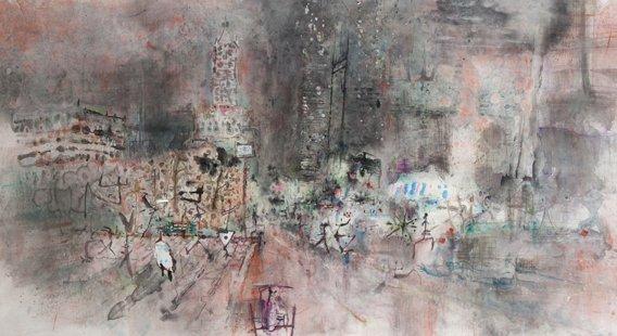 Xian Gua Xu, impressionistic painting.