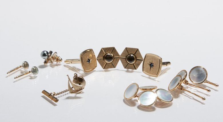 Miscellaneous Yellow Gold Men's Jewelry