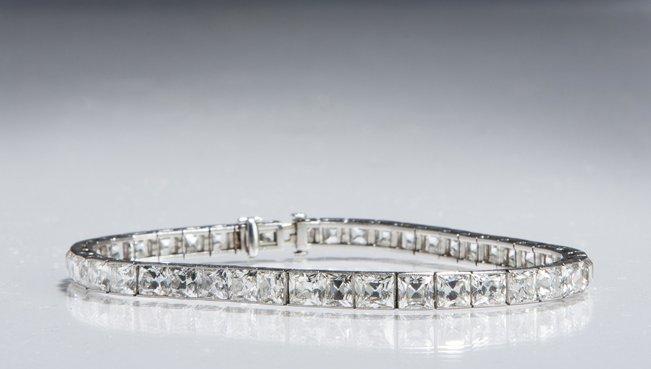 Tiffany & Company Diamond Bracelet.