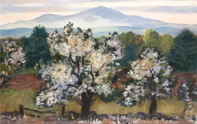 Gifford Beal Painting of Mt.  Monadnock