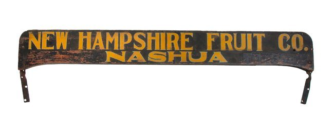 New Hampshire Trade Sign