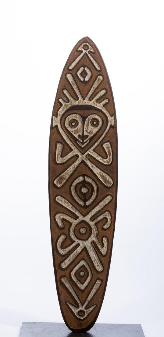 A Papuan gulf Gope board, New Guinea