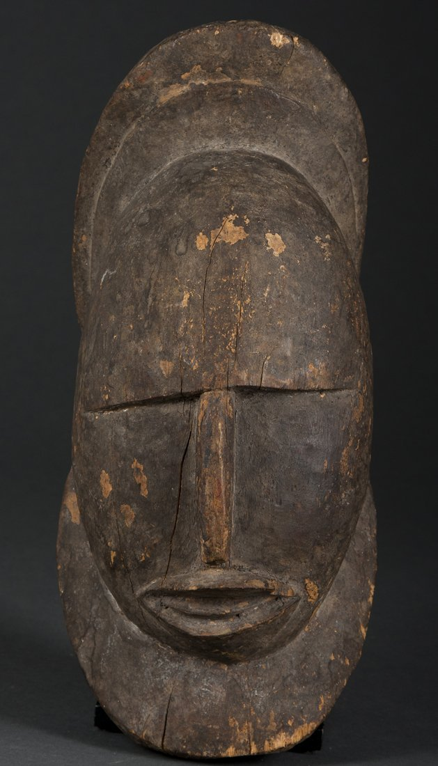 An Abelam carved head, New Guinea