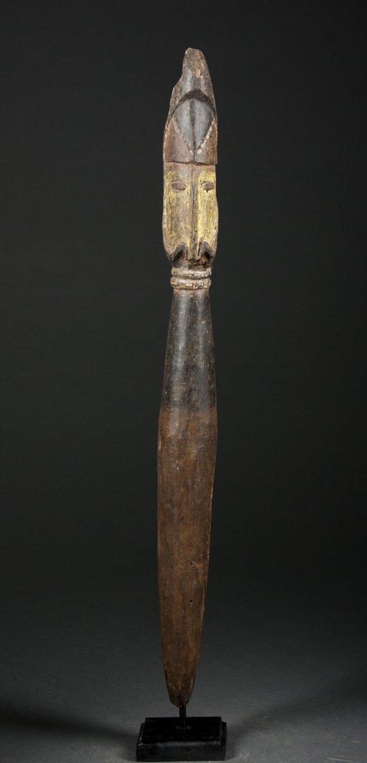 An Abelam Ritual Peg, New Guinea