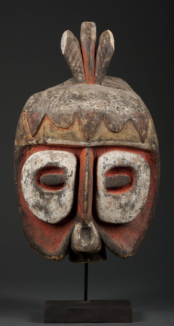A fine Abelam mask, New Guinea