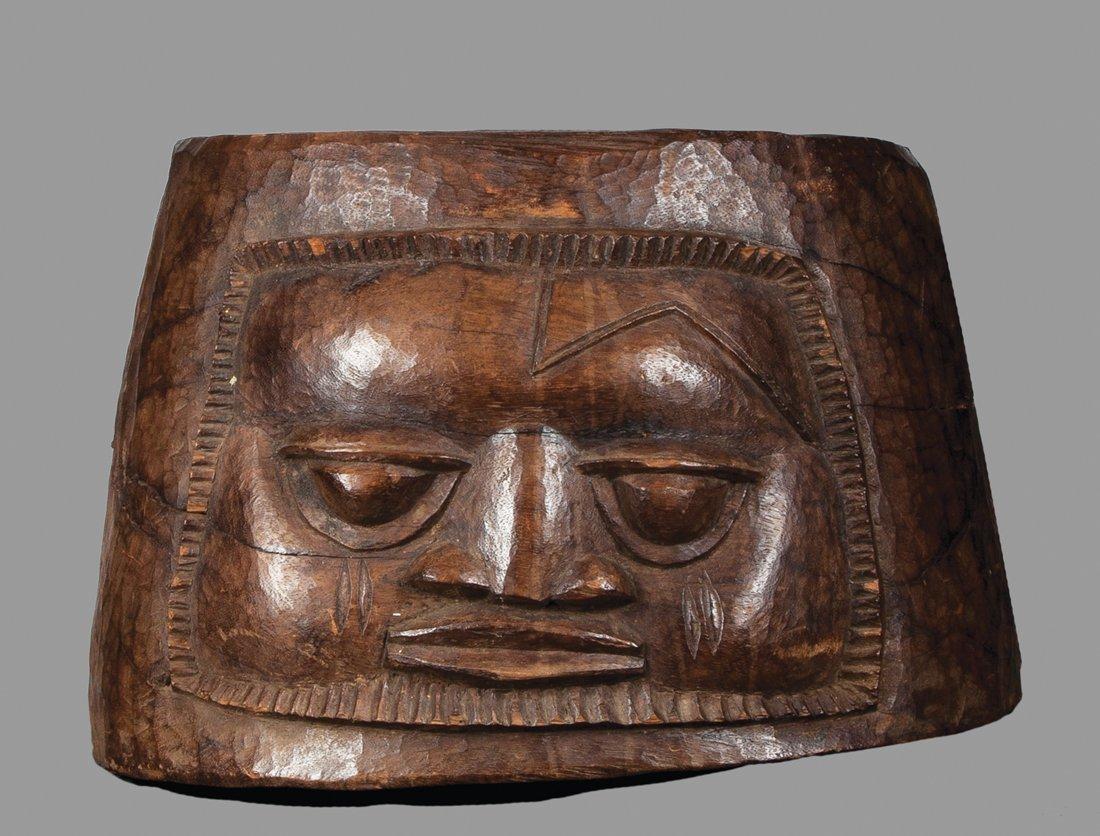 A superb Yoruba ritual mortar by Olwowe of Ise