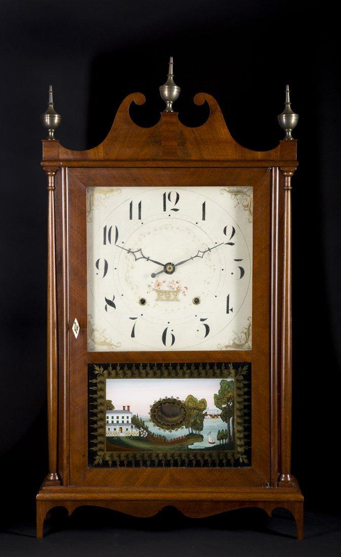 """Seth Thomas"" Pillar and Scroll Mantle Clock"