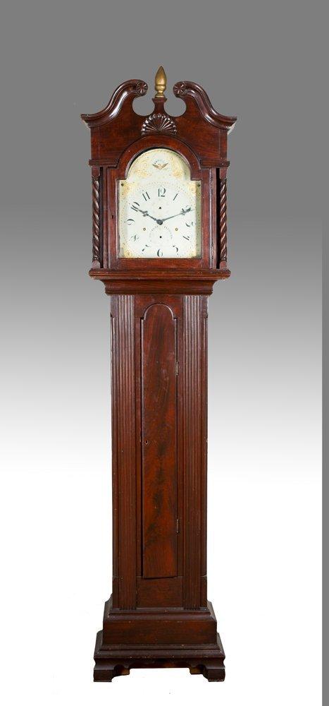 Dunlap School Tall Case Clock,