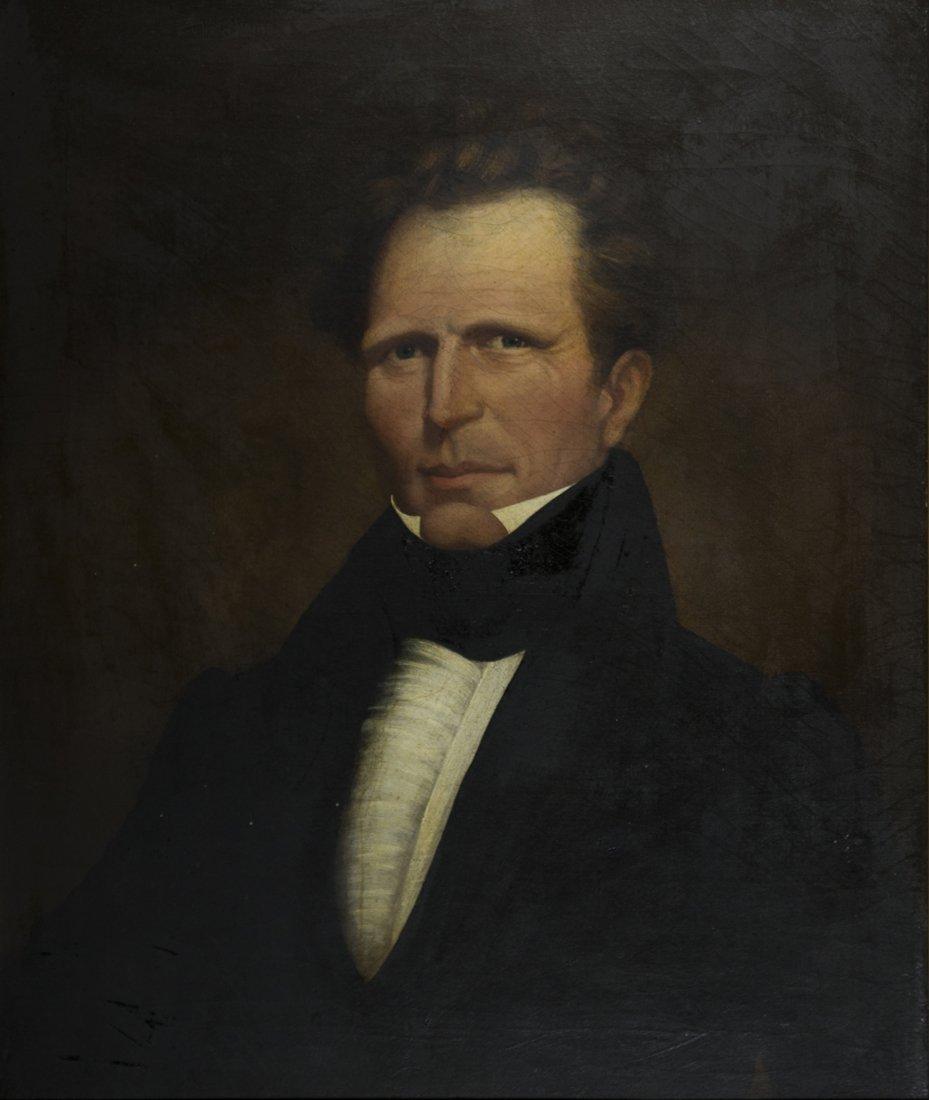 Charles Pierce, portrait of Warren Bailey Potter Weeks