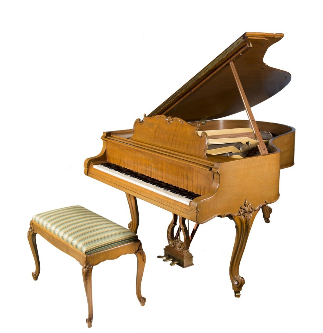 """Steinway and Sons """"M"""" Grand Piano"""