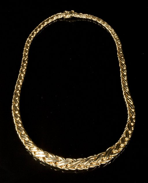 905954403 Tiffany & Co., yellow gold necklace, marked 585(14k) - Jan 03, 2015 ...