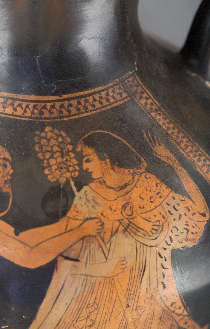 Ancient Greek Red Figure Amphora Vase - 10