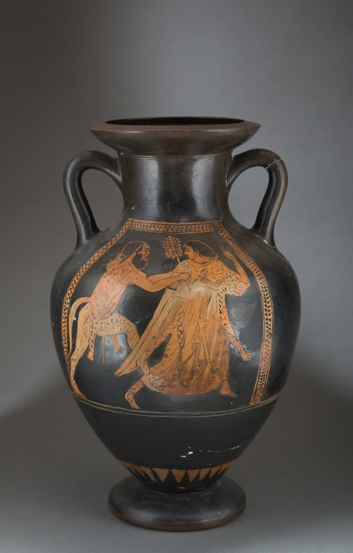 Ancient Greek Red Figure Amphora Vase - 2