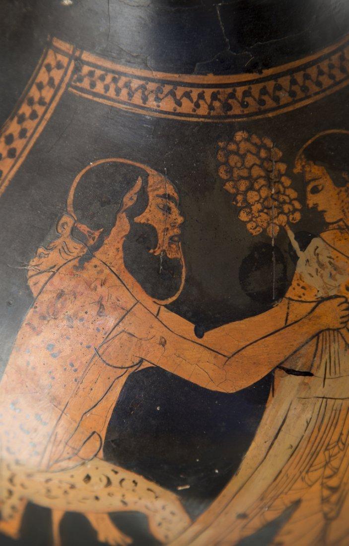 Ancient Greek Red Figure Amphora Vase - 4