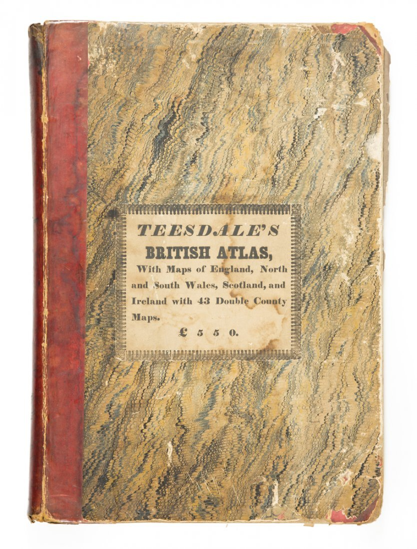 TEESDALE, HENRY.  New British Atlas