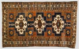 Antique Kurd Caucasian Oriental Rug