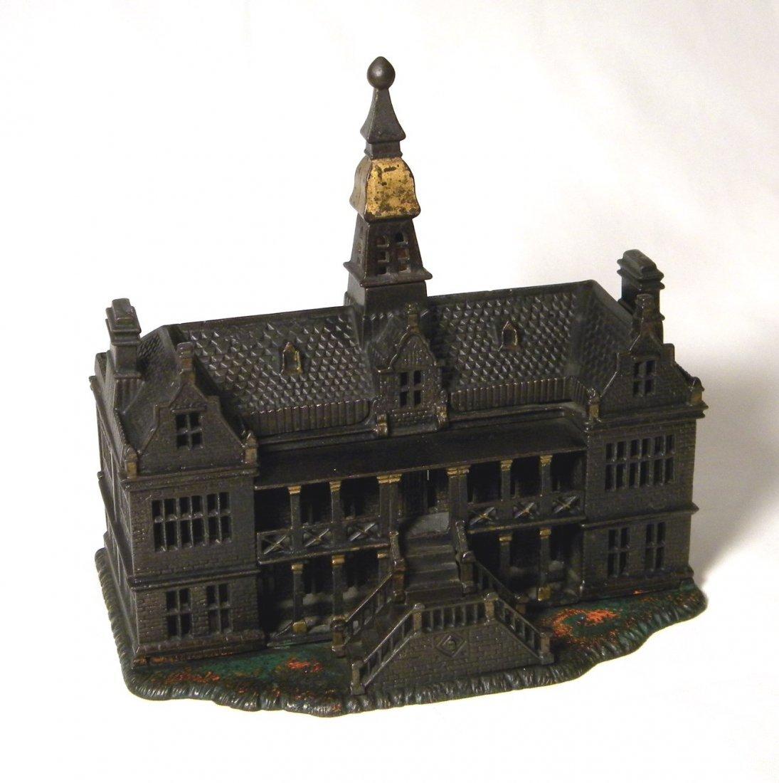 Ives Cast Iron Palace Still Bank