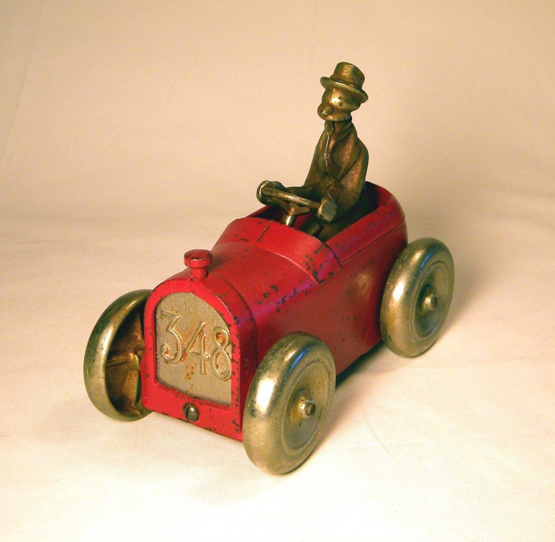 Arcade Cast Iron Andy Gump 348 Car