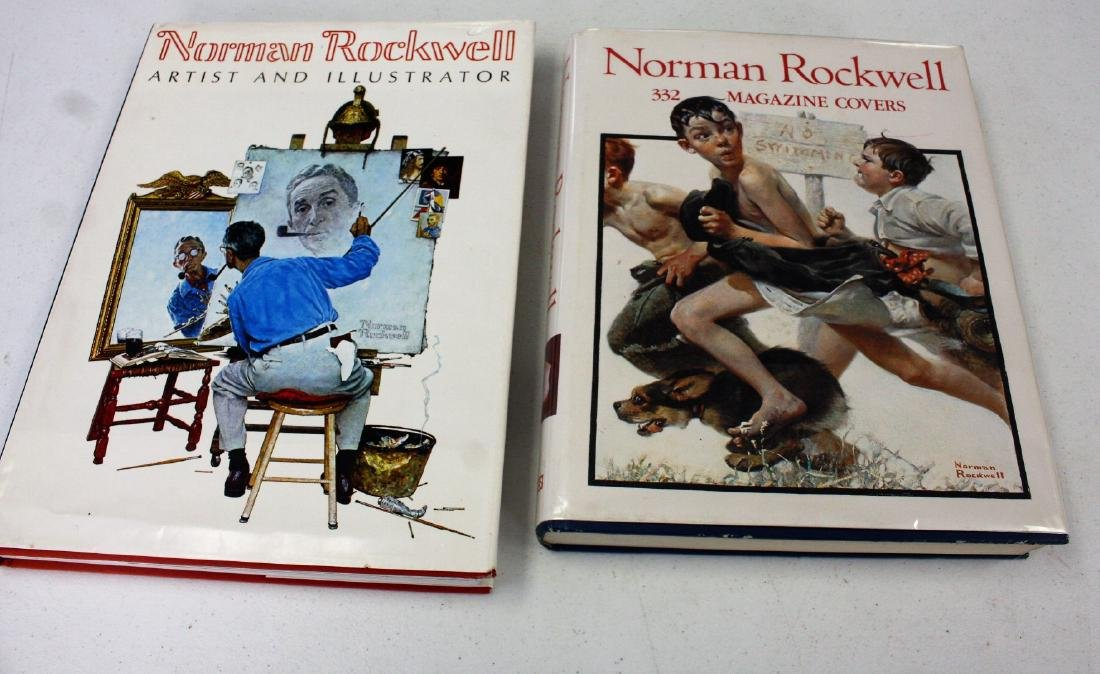 Norman Rockwell: Lot of Two(2) Books