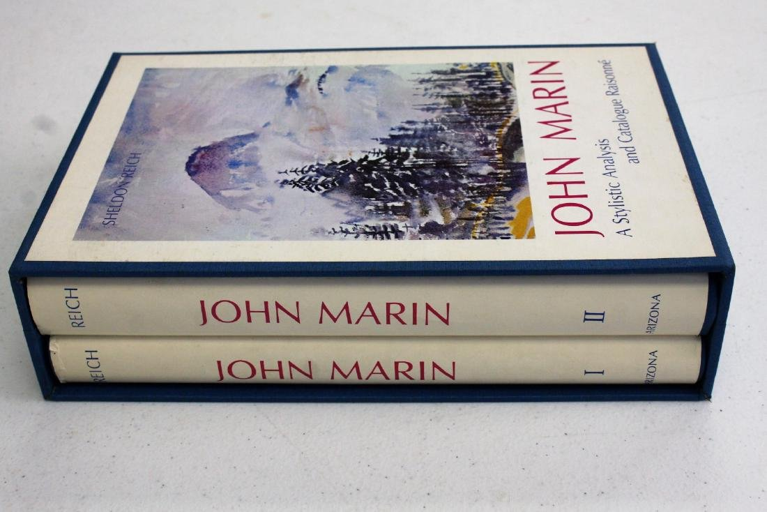 John Marin: Catalogue Raisonne. Two(2) Volume Set