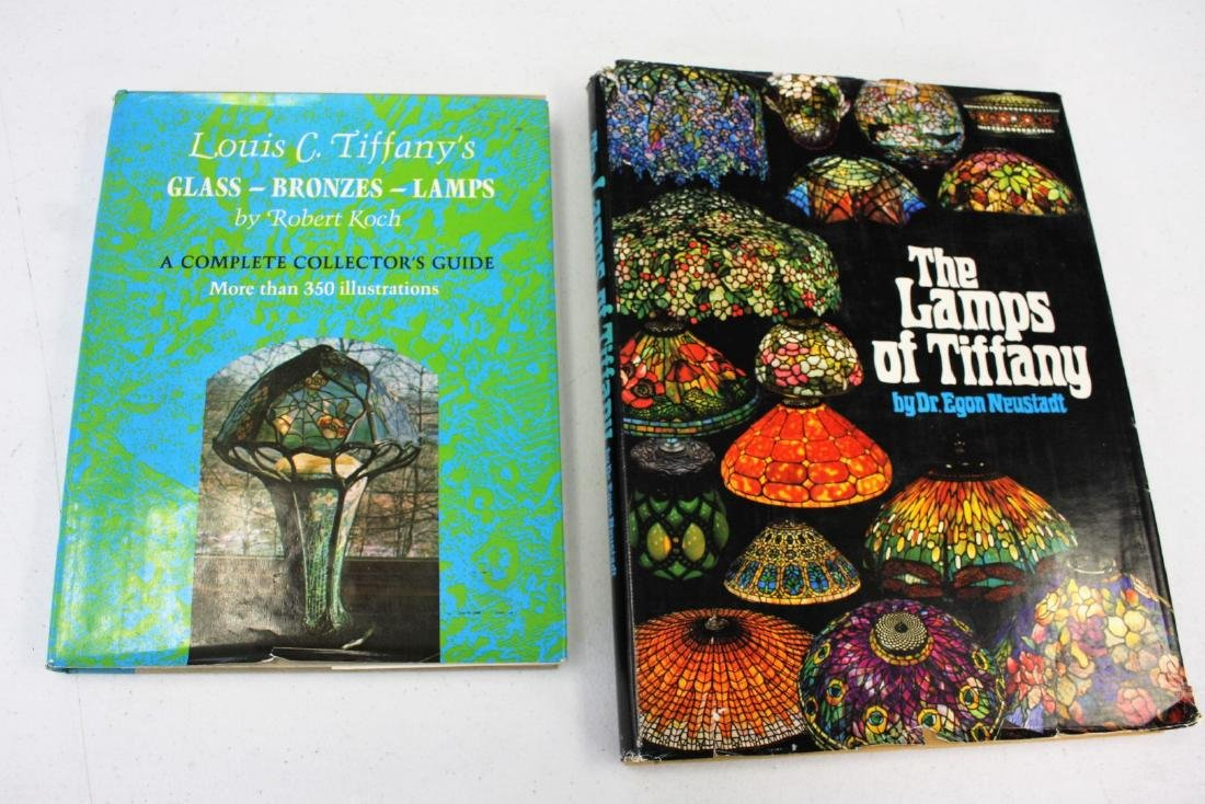 Two(2) Louis C. Tiffany Books