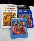 Willem De Kooning: Five(5) Books