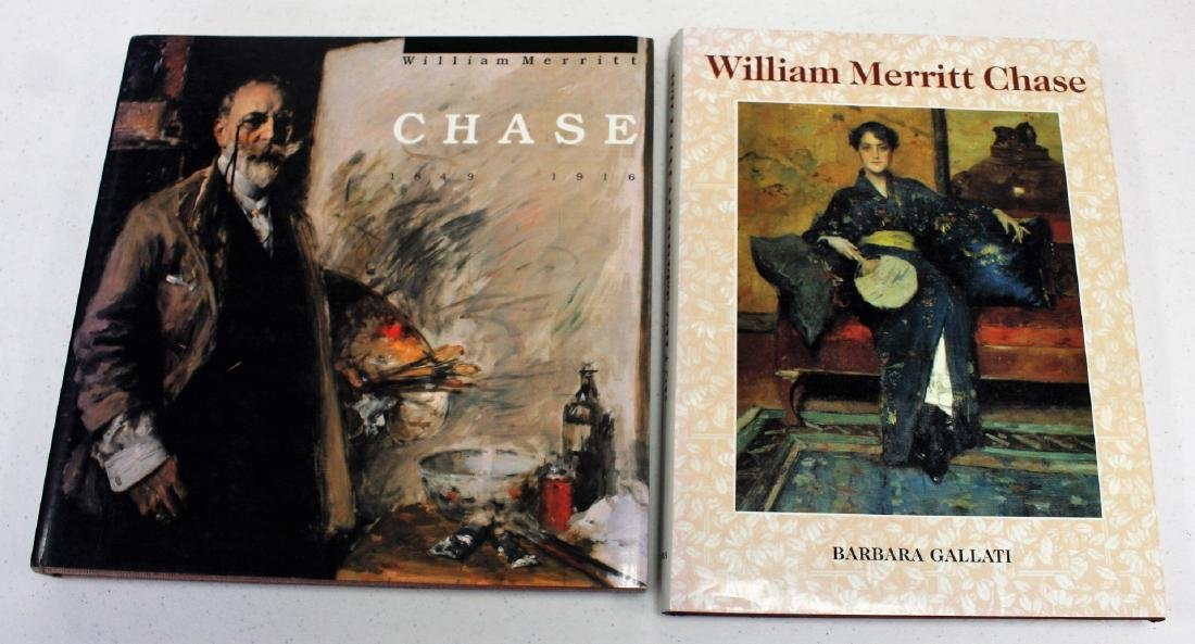 Two(2) Books: William Merritt Chase