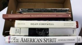 Box Lot of Art Reference Books(14)