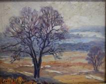 Louise M. Kamp; 20thC. American Oil Painting Signed