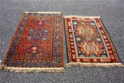 Two2 Antique Persian Scatter Rugs
