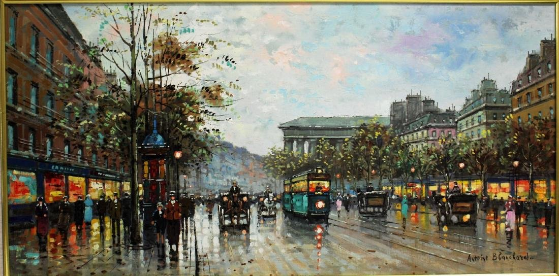 Antoine Blanchard; 20thC. French Oil Painting Signed