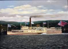 Albert Nemethy; 20thC. American Oil Painting Signed